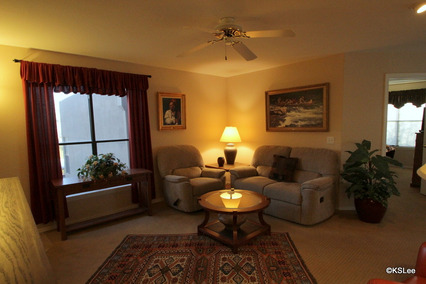 Floor Plan for Upper Level, Two Bedroom Condo with Views at Canyon View in Ventana Canyon
