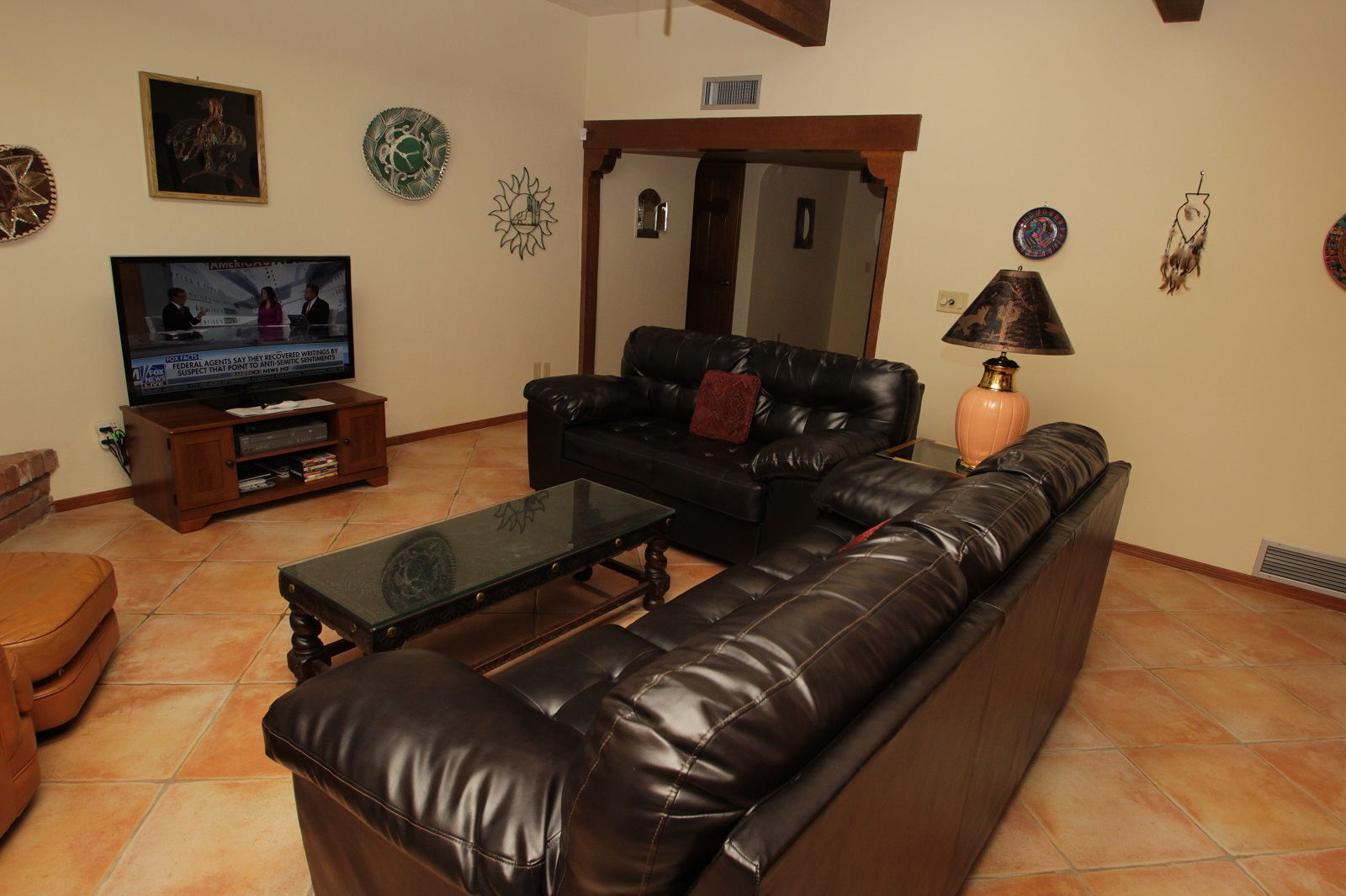 Floor Plan for Spacious, Three Bedroom, Pet Friendly Home with Mountain Views Near Sabino Canyon